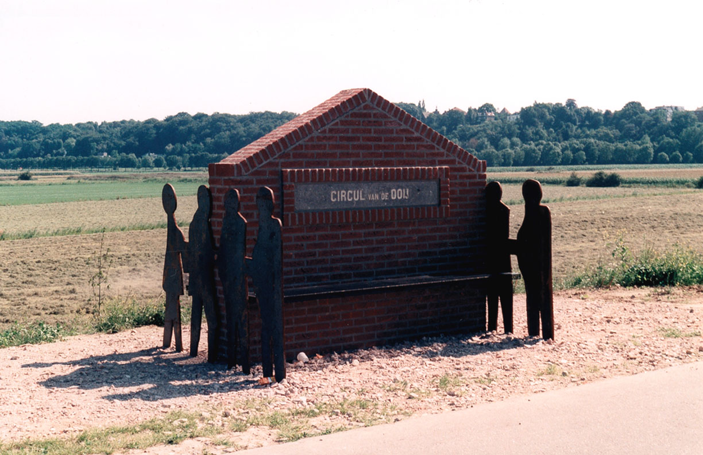 kunstobject bank Ooijschebanddijk